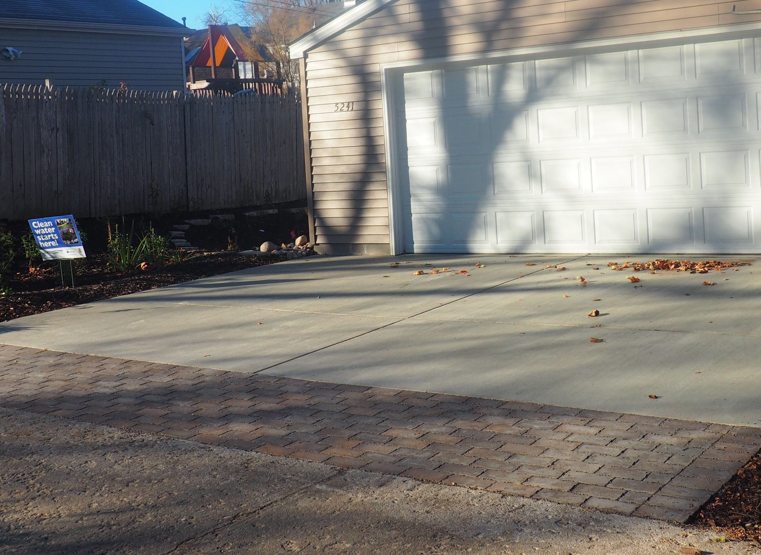Because the size of permeable pavement installations are relatively small in the Blooming Alley projects, they can be easily maintained by homeowners.
